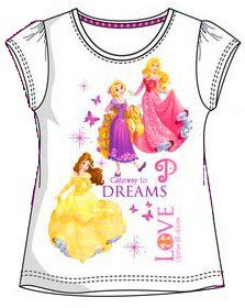 T-Shirt Princess (110 / 5Y)