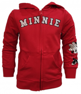 Bluza z kapturem Minnie Mouse (128/8Y)