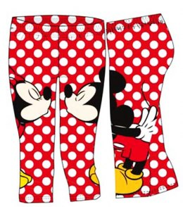 Leggins 3/4 Minnie Mouse (134/140 9/10Y)