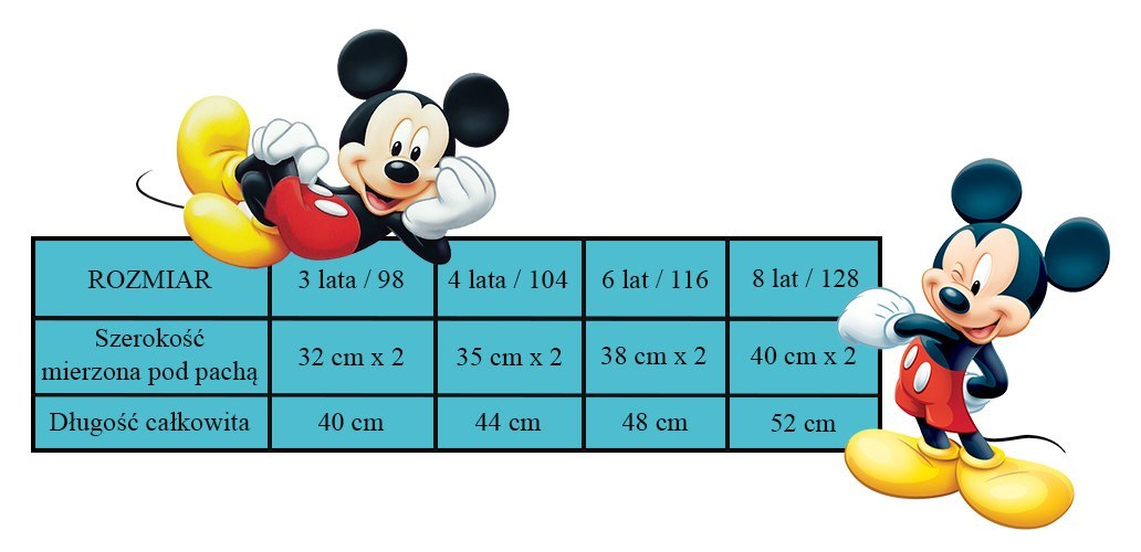 Bluza Mickey Mouse (104 / 4Y)